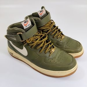 Nike Air Force 1 Mid 07 Medium Olive Sneakers 11